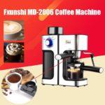 220V Fxunshi MD-2006 Automatic Espresso Milk Bubble Coffee Maker Machine