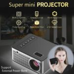 Mini Projector Support 1080P Full HD Projector LCD LED Home Theater Projector HDMI/USB/AV