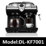 DL-KF7001 Italian American Commercial Commercial Espresso Machine Steam Milk Frother Cappuccino