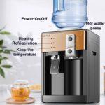 Electric Water Dispenser Water Hot/Cold Dispenser Desktop 220V Stainless Steel For Liner Office Home