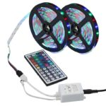 Led Strip RGB Color Changing Flexible Led Strip Light Kit + 44key IR Remote Controller