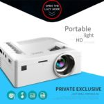 HD 1080P TFT LCD Home Mini Projector TV Multi-Media Player Theater Home Cinema Video Projector