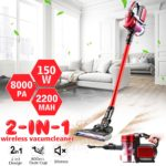 Vacuum Cleaner For Home Portable Wireless Suction Carpet Sweep Dust Collector Handheld Cordless