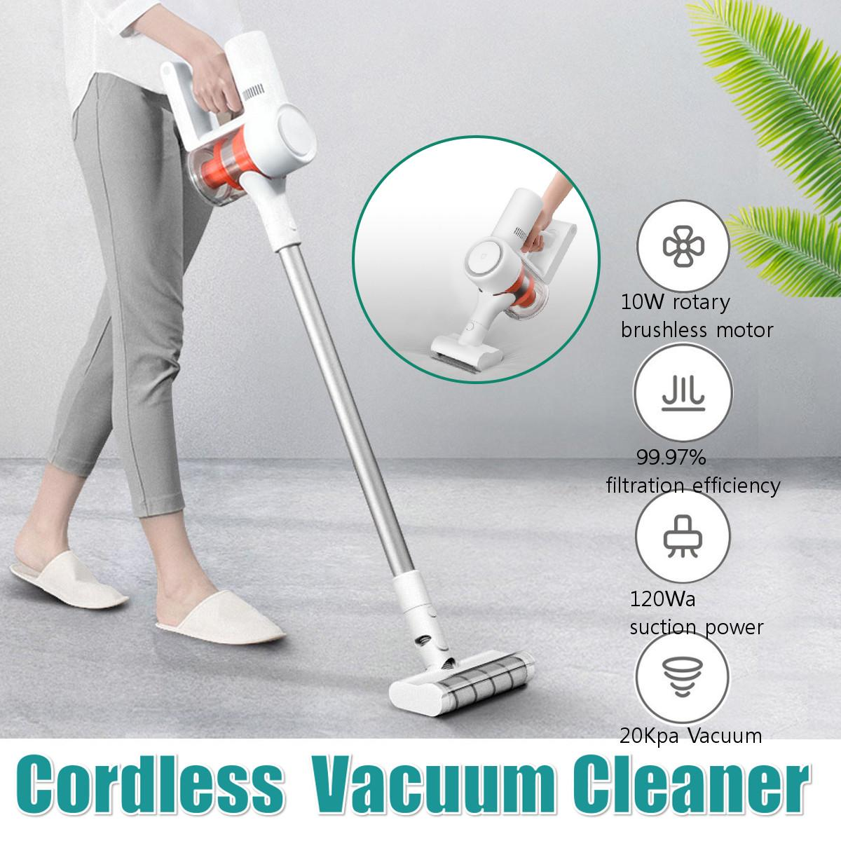Handheld Vacuum Cleaner Car Wireless Sweeping Suction Multifunctional Brush Mite Removal 99%25